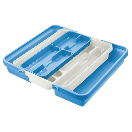 MIXY TWO-TIER CUTLERY TRAY WITH SIDE ELEMENTS