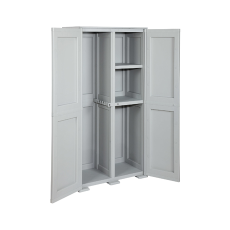 SIMPLEX - 2 DOORS - 4 INTERNAL COMPARTMENTS (1 HANGING SECTION, 1 HIGT, 2 LOW)