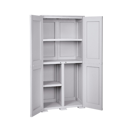 Simplex - 2 doors - 5 internal compartments (2large, 2 low, 1 hight)