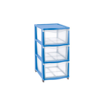COVER LINE STORAGE<br/> UNIT 3 MEDIUM DRAWERS