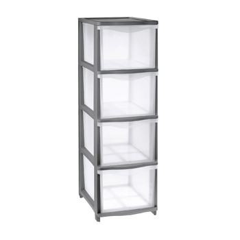 COVER LINE STORAGE<br/> UNIT 4 HIGH DRAWERS