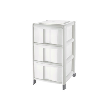 BAMBÙ MEDIUM STORAGE<br/> UNIT 3 HIGH DRAWERS