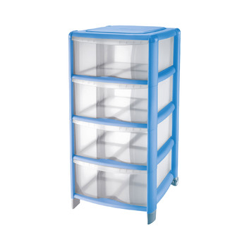 BAMBÙ MEDIUM STORAGE<br/> UNIT 4 HIGH DRAWERS