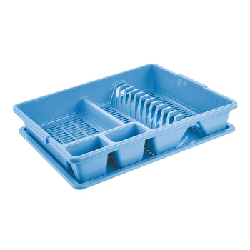 LARGE DISH DRAINER WITH DRIP TRAY