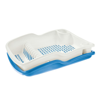 BRIO LARGE DISH DRAINER WITH DRIP TRAY