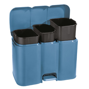 PATTY 3 - AURORA COLLECTION DUSTBIN FOR SEPARATING WASTE