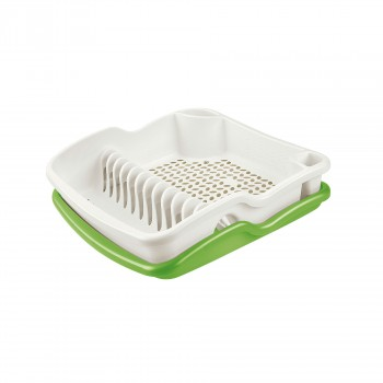 BRIO DISH DRAINER WITH TRAY