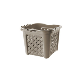 Arianna Square Hamper With Handle