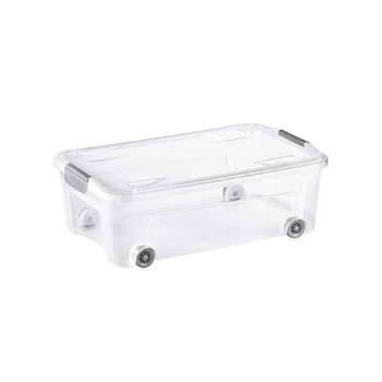 COMBI BOX WITH WHEELS AND LID WITH HANDLES<br/>29,5 L
