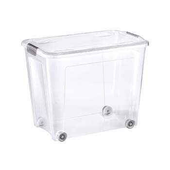 Combi Box With Wheels And Lid With Handles | 67 L