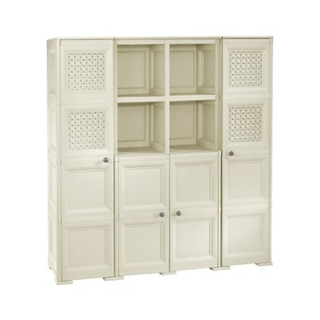 OMNIMODUS CUPBOARD - 4 DOORS 4 SHELVES