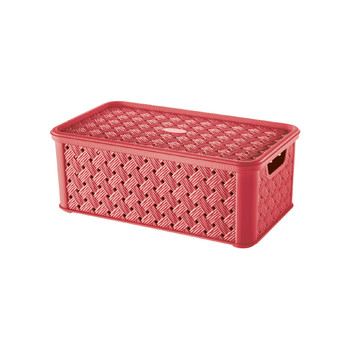 ARIANNA BOX WITH LID - MEDIUM