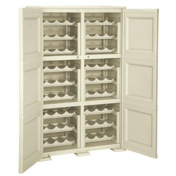 Omnimodus Cupboard Wine Rack For 72 Bottles Smooth Door