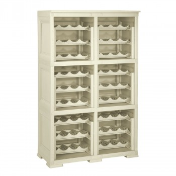 Omnimodus Wine Rack Shelving Unit For 72 Bottles