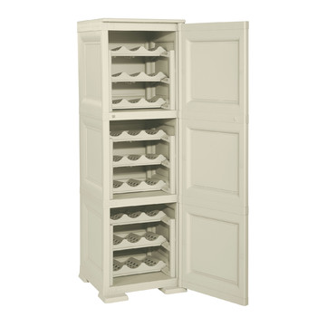 Omnimodus Wine Rack Shelving Unit For 27 Bottles