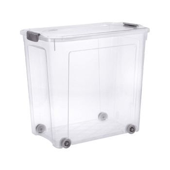 COMBI BOX WITH WHEELS AND LID WITH HANDLES | 85 L
