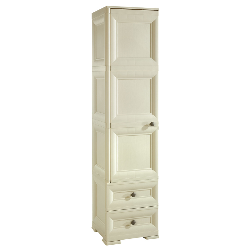 Tontarelli Shop Omnimodus Wardrobe With 1 Hanging Space And 1